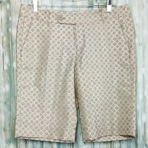 Cartonnier Anthropologie bermuda french fly shorts